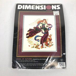 New Dimensions Crewel Angel of Autumn Kit
